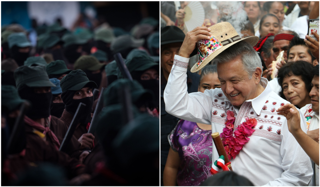 EZLN vs AMLO.